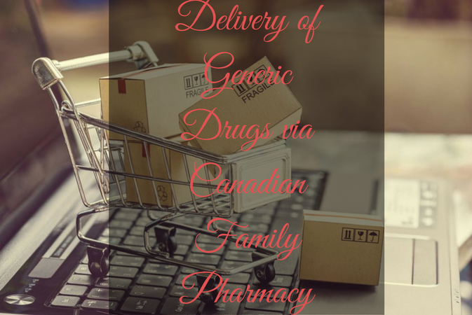 Delivery of Generic Drugs via Canadian Family Pharmacy